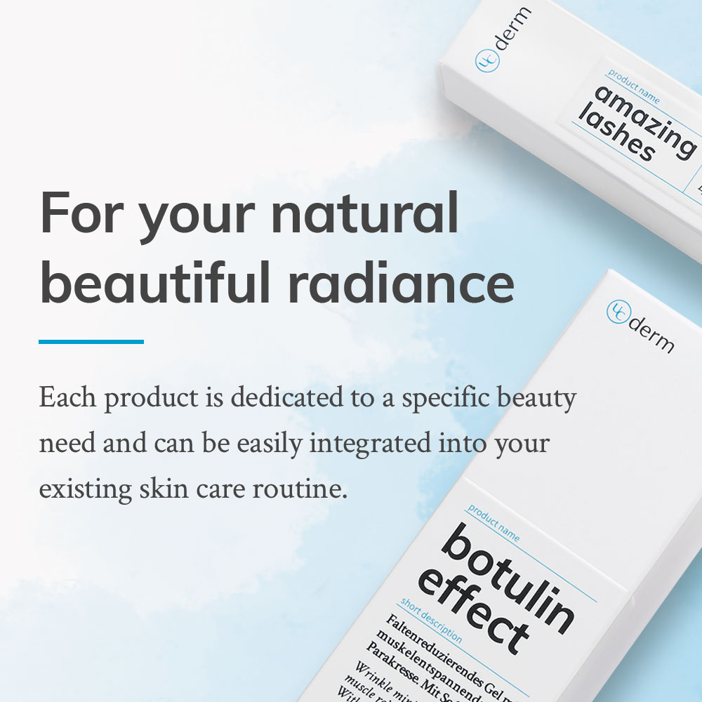 UniCare UCderm online shop banner for specific beauty needs